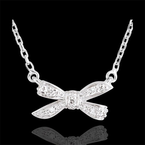 Necklace Eden's Bow White gold