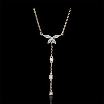 Bi-colour Diaphanous Necklace