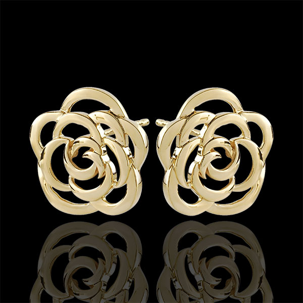 Ohrstecker Rose Haute Couture