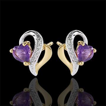 Ouaki Amethyst Earrings