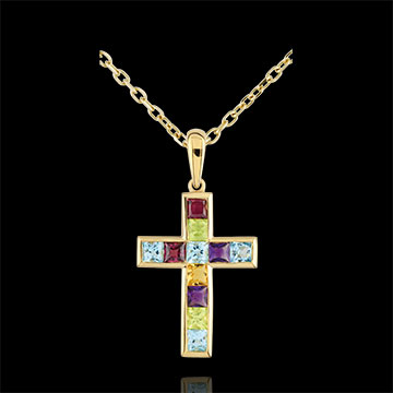 Colour Cross Pendant
