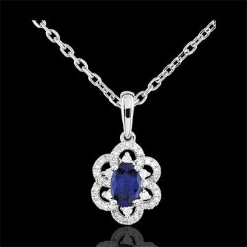 Princess Daisy Sapphire Pendant