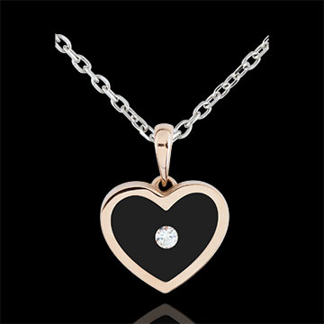 Pendant Magic Heart - rose gold