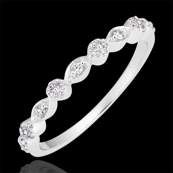 Petite Pampilles - 18K white gold and diamonds