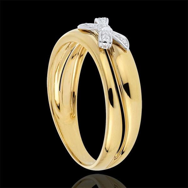 Pierścionek Węzeł Moja Droga z żółtego złota - złoto żółte 18-karatowe