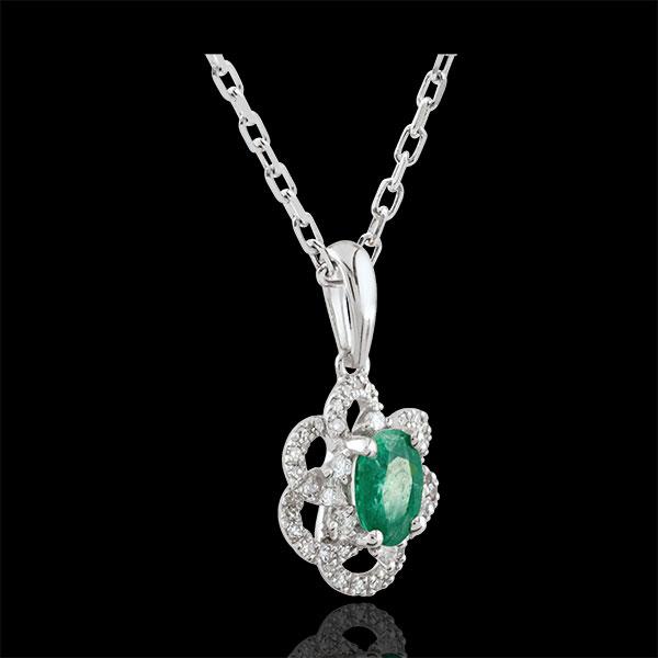 Princess Daisy Emerald Pendant