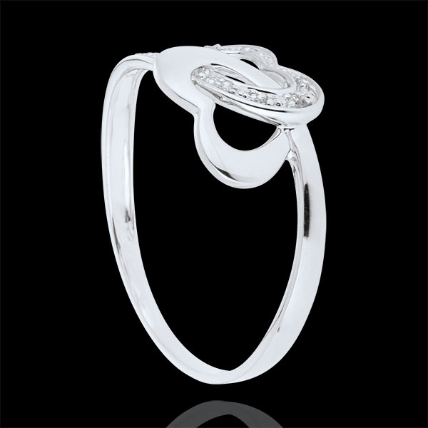Ring By Heart - White gold