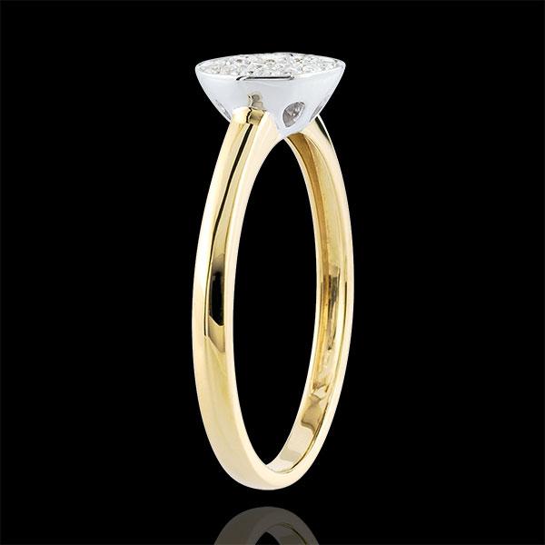 Ring Constelatie Tweekleurig - 18 karaat goud