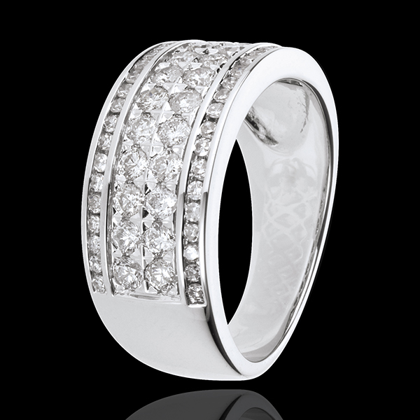 Ring Constellation - Cosmos - 62 diamonds