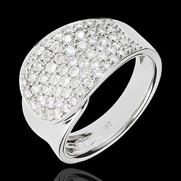 Ring Langue de Diamants