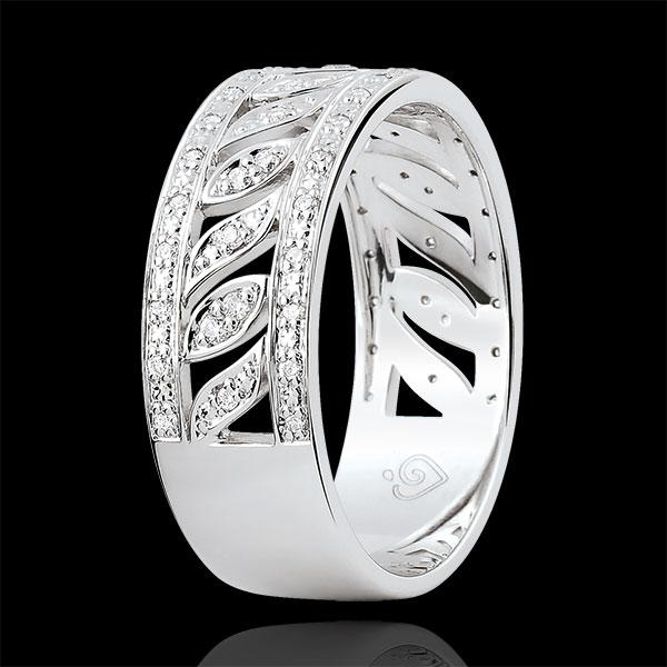 Ring Destinée - Theodora - 52 Diamanten - 9 karaat witgoud