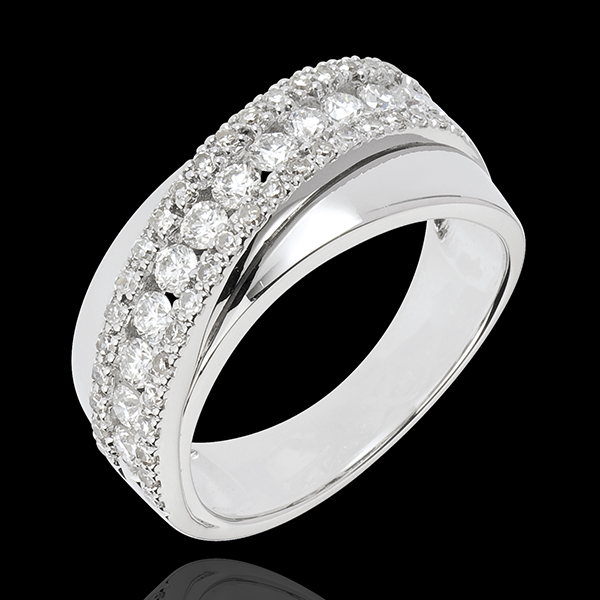 Ring Destiny - Victoria - white gold