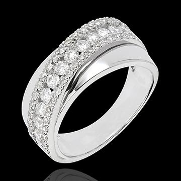 Ring Destiny - Victoria - white gold
