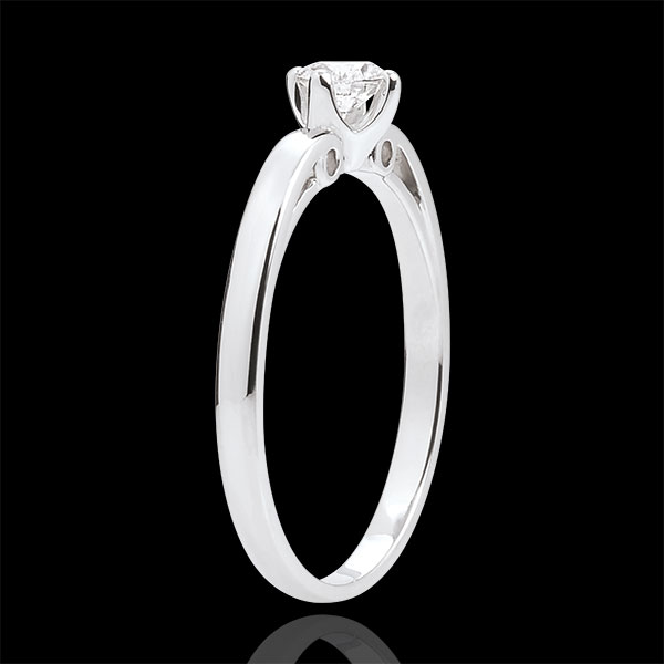 Ring Eclosion Solitaire - Ivy Button - 0.21 carat
