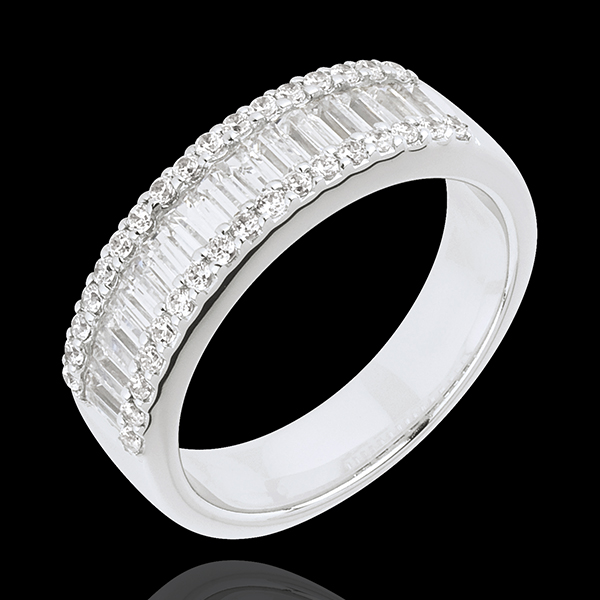Ring Enchantment - Infinite Light - 49 diamonds: 1.63 carats