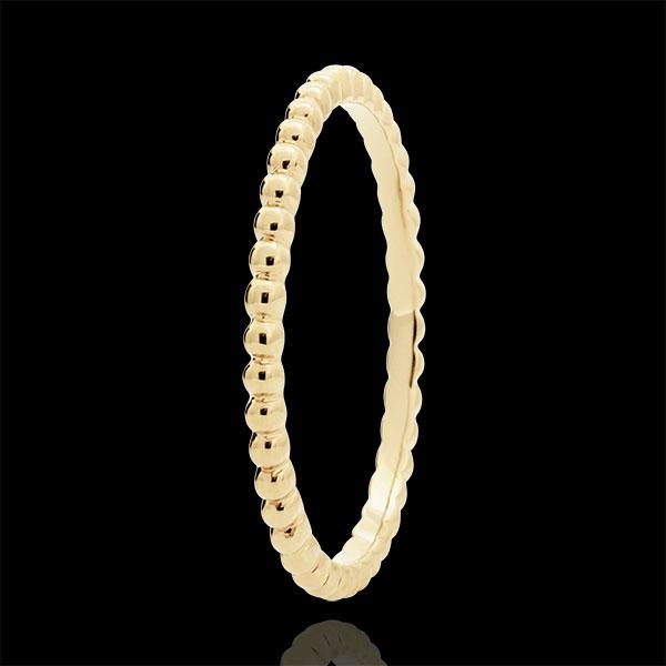 Ring Fleur de Sel - 9 karaat geelgoud