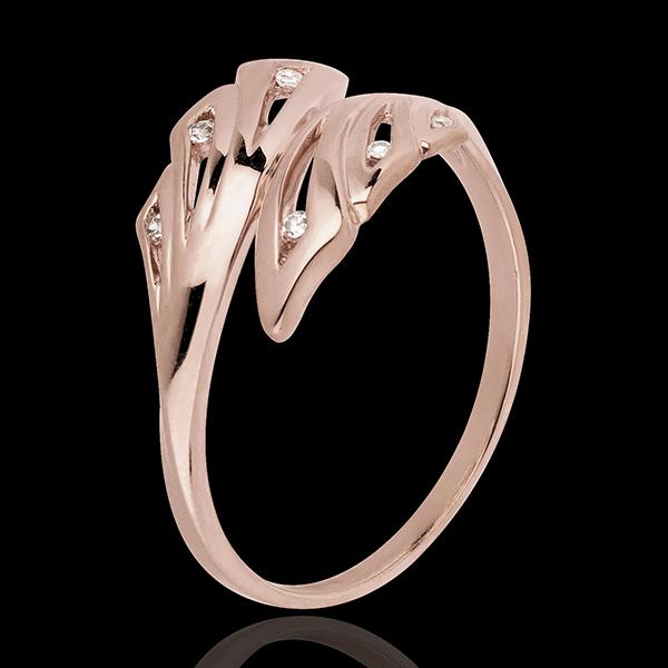 Ring Freshness - Palms - rose gold