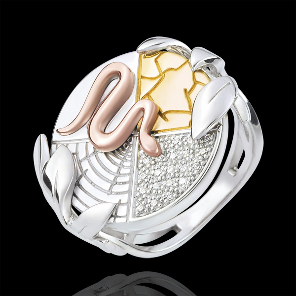 Ring Genesis - Spirit of the Earth - 9 carat