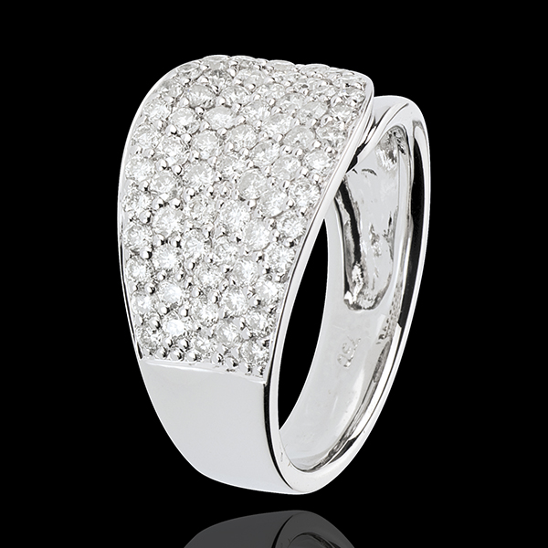Ring Langue de Diamants