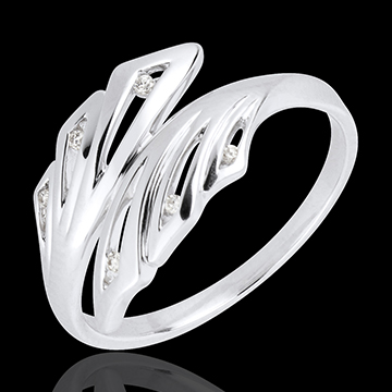 Ring Freshness - Palms - white gold