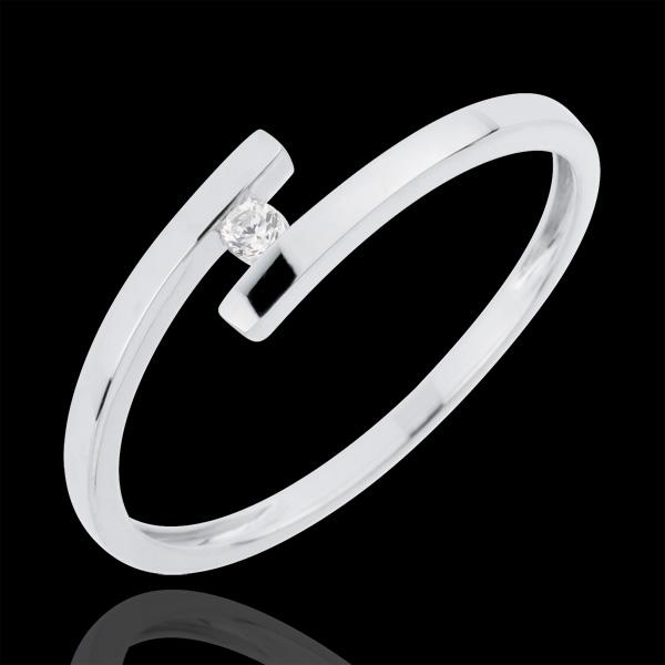 Ring Liefdesnest - Pure Liefde - Diamant 0.03 karaat - 18 karaat