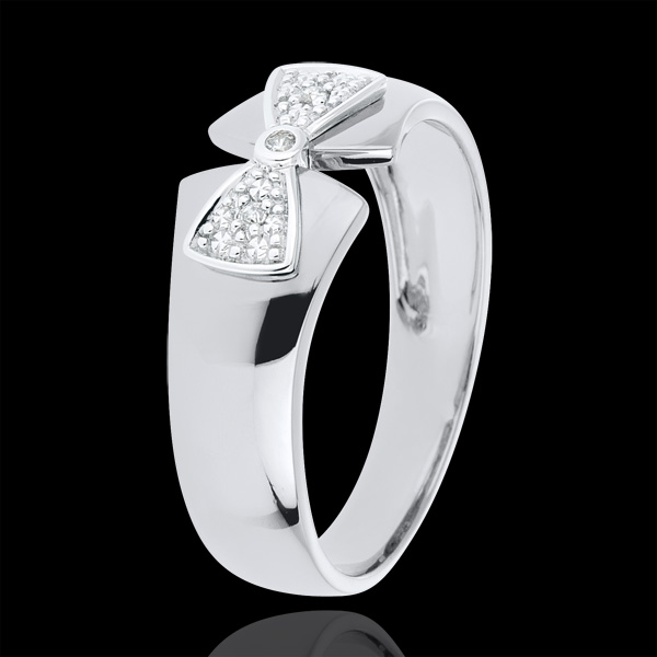 Ring Little Knot Amelia - White gold