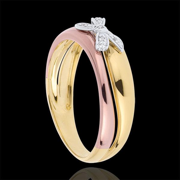 Ring Mijn Schat 3 Goudsoorten - 9 karaat goud