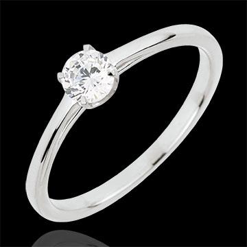 Ring Precious Purity - 18 karaat witgoud