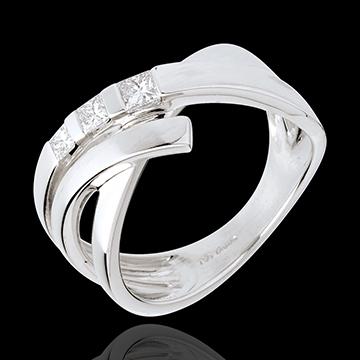 Torsade trilogy ring - 0.26 carat