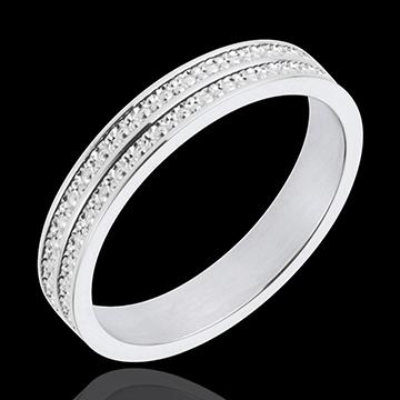 Roads of Life Wedding Ring