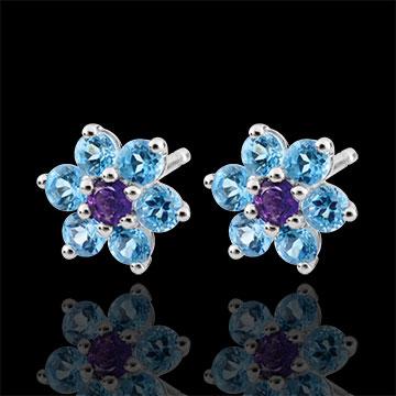 Snow Flower Earrings