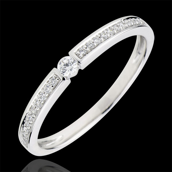 Solitaire Ring The last