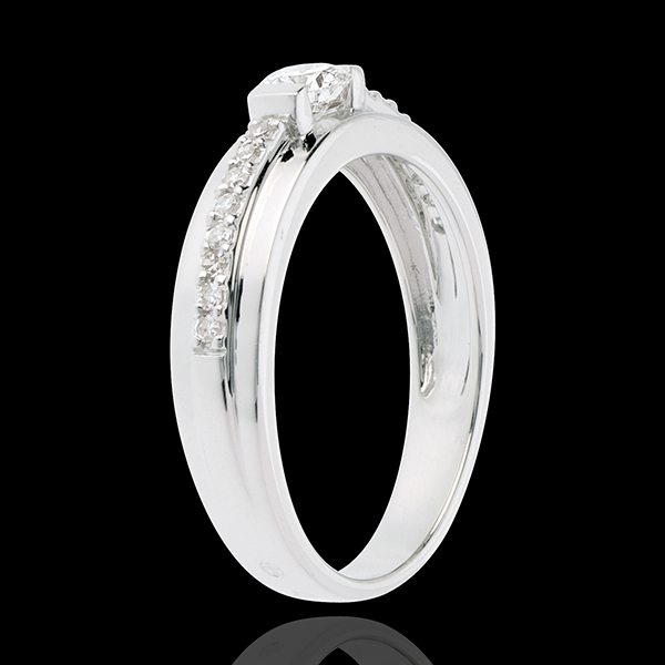 Solitärring Schicksal - Eugenie - Diamant 0.22 Karat