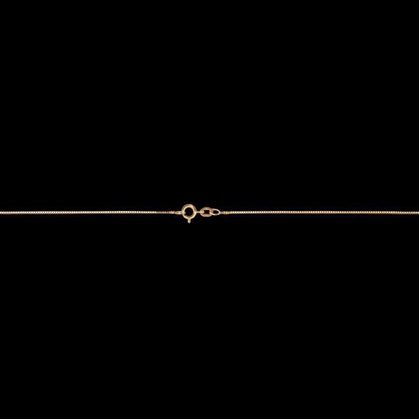 Venezianerkette für Kinder Gelbgold mittel 38 cm