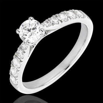 Ring Belle Cherie Wit Goud en Diamant