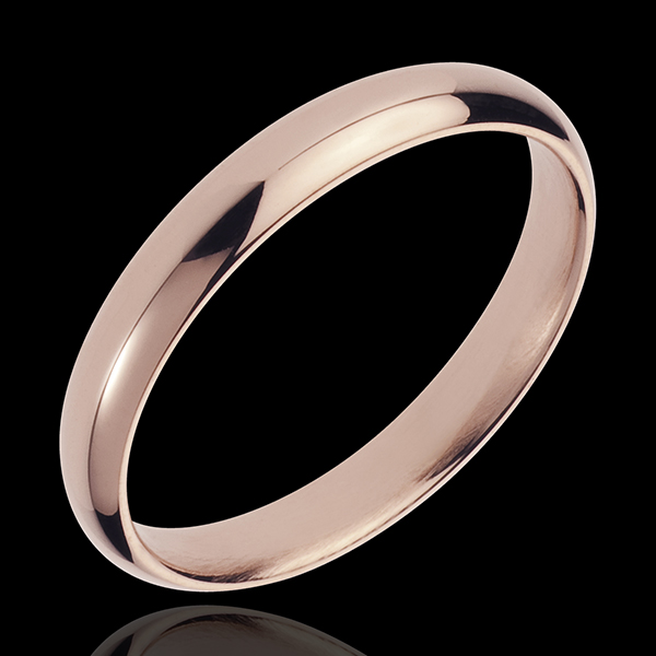 Wedding Ring Pink gold - 18 carat