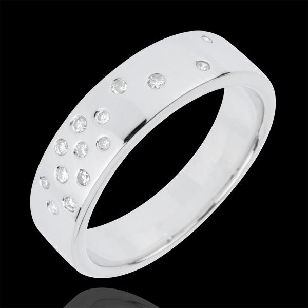 Wedding Ring Starry Night
