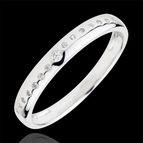 Wedding Wedding Ring with Diamonds Nuptial