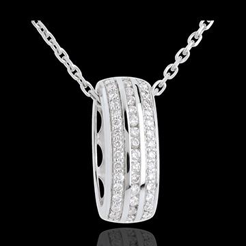 Wheel pendant diamonds - 0.27 carat