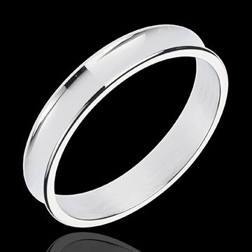 White Gold Dandy Ring