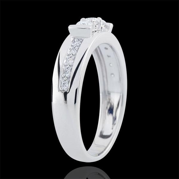 White Gold Hérine Trilogy Ring
