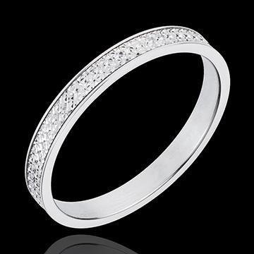 White Gold Maxim Wedding Ring