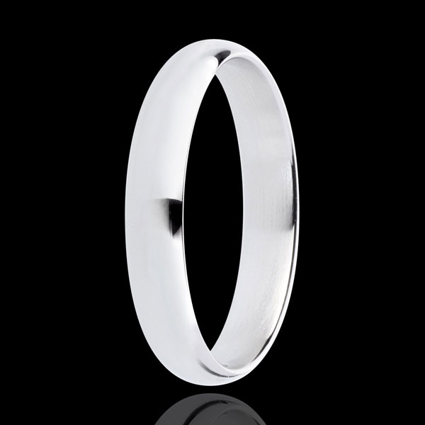 White Gold Pure Wedding Ring