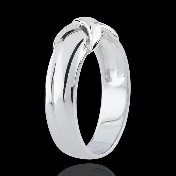 White Gold Sign Ring