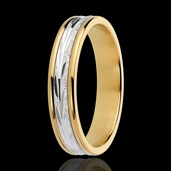 Wild Exploration Wedding Ring - small model