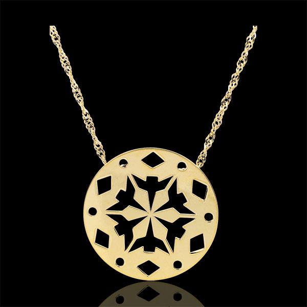 Yellow Gold Makwa Necklace