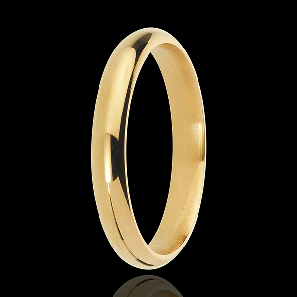 Yellow Gold Waltz Wedding Ring