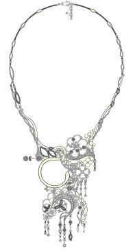 collier diamant