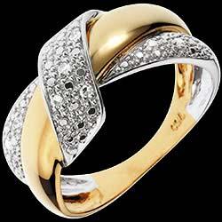 <a href=https://www.edenly.com/bijoux/bague-double-noeud,1151.html><span class='nom-prod-slide'>Bague Double Noeud - or blanc et or jaune 18 carats</span><br><span class='prixf'>650 &#x20AC;</span> (-41%) </a>
