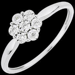 <a href=https://it.edenly.com/gioielli/anello-solitario-fiore-di-diamanti,3063.html><span class='nom-prod-slide'>Anello Solitario Freschezza - Oro bianco - 18 carati Fiore di Fiocco - 7 diamanti </span><br><span class='prixf'>340 &#x20AC;</span> (-28%) </a>
